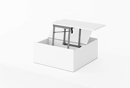 Furniture24 Multifunktionstisch Replay RP23 Couchtisch mit Staraum, für Jugendzimmer, Kinderzimmer