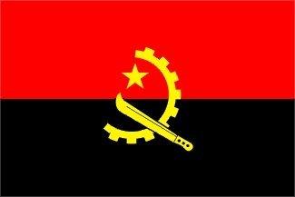 Angola Flagge 150cm x 90cm