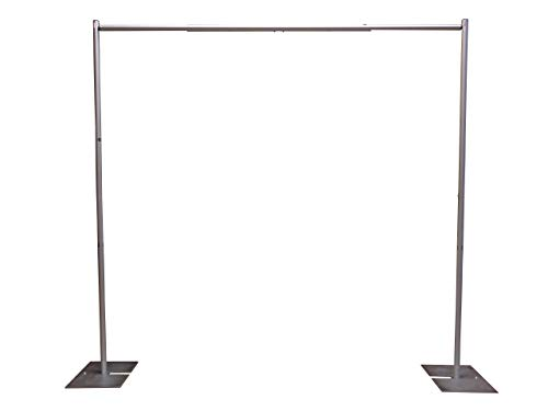 OnlineEEI Premier Portable Pipe and Drape Backdrop Kit 8ft x 10ft (No Drapes)