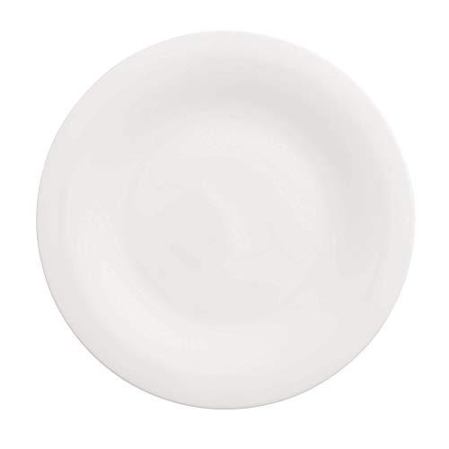 Villeroy & Boch New Cottage Basic Assiette Gourmet, 30 cm, Porcelaine Premium, Blanc