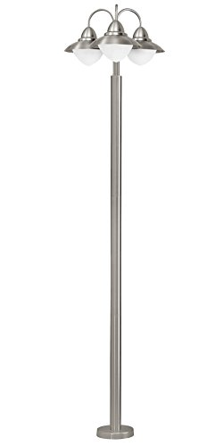 Eglo 85155 Liseuse, métal, E14, argent