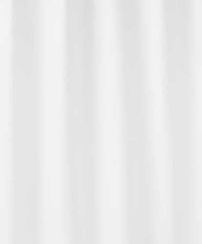 Kleine Wolke 4937114352 Duschvorhang Kito, 240 x 180 cm, schneeweiß