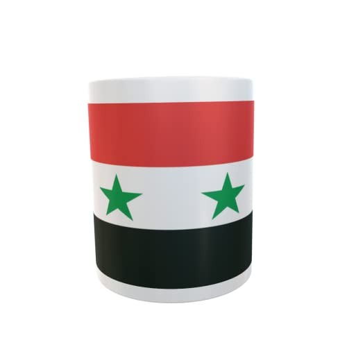 U24 Tasse Kaffeebecher Mug Cup Flagge Syrien