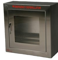 Boston Mall Surface Mounted AED Denver Mall Cabinet Wall