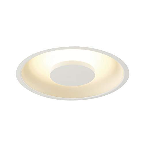 SLV Einbauleuchte OCCULDAS 23 | Runde, dimmbare Decken-Leuchte zur Beleuchtung innen | Design Deckenstrahler, LED Einbau-Strahler, Moderne Einbau-Lampe, LED Leuchte | LED Inside, 3000 Kelvin, EEK A++