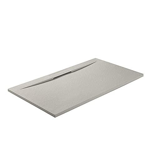 Plato de ducha Side Plus 100x80 Blanco GME