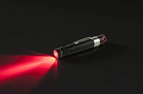 Maglite Solitaire Spectrum RED LED Taschenlampe, Rotlicht