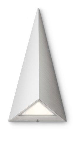 Philips 172474716 Hills Lanterne Murale LED 2 x 2,5 W Inox