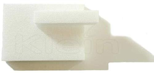 Hartschaum XPS stahlendweiß 80mm x 330mm x 600mm Styrodur extrudierte Modellbauplatte Architekturmodellbau