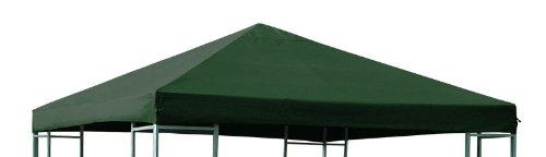 DEGAMO Ersatzdach für Pavillon 3x3 Meter grün, wasserdicht