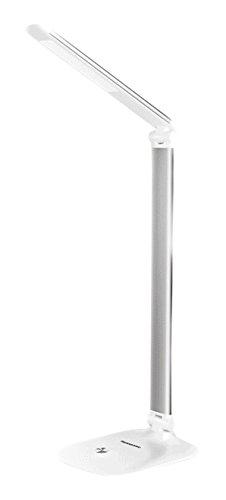 パナソニックパナソニック5.5W所得テーブルランプHHLT0608シルバーledデスクランプ子供用ランプオフィスデスクライティングアイプロテクションテーブルランプ
