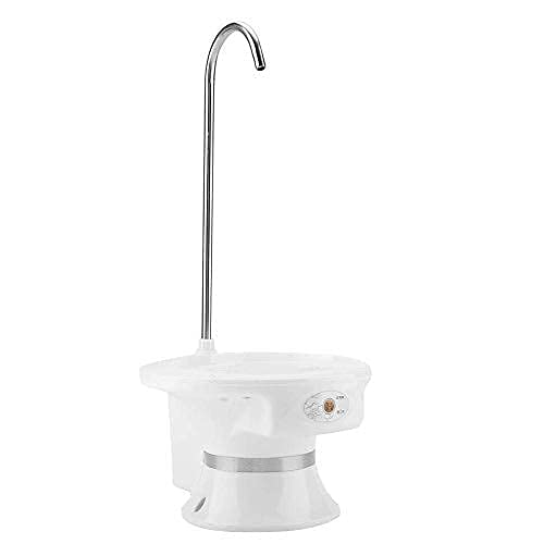 Fdit Pompa per Acqua Potabile 5 Gullan Universal Bottle Dispenser Elettrico Portatile(Black)