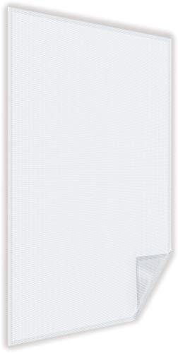 easy life Malla mosquitera Basic protectora contra el polen para ventanas 130 x 150 cm - Fácil de instalar, con cinta adhesiva inclusive