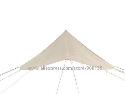 Mdsfe Diameter 5m Bell Tent Heavy Duty Waterproof Family Camping Bell Tent For Outdoor Wedding Party Tent-5m roof tarp,A2