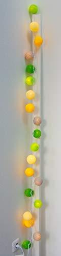 Les Merveilleuses d'Augustine - Guirlande lumineuse 20 Boules Ananas
