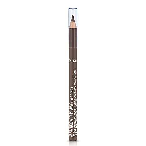 Rimmel London Brow This Way Fibre Pencil Lápiz de Cejas Tono 2 - 3,9 gr