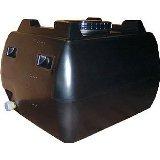ホームローリー 200L 黒色 (雨水タンク) 貯水槽・貯水タンク スイコー