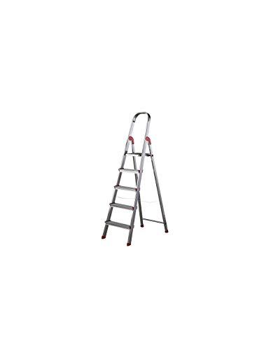 Escalera Rolser Aluminio Unica 5 Peldaños