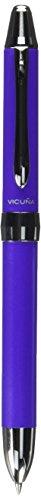 Pentel Multi Function Pen Vicuna Ex, Fine Ballpoint and 0.5mm Mechanical Pencil, Violet (BXW1375V)