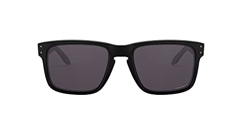 Oakley SI Men's Holbrook OO9102-K355 Sunglasses Matte Black/Prizm Grey Polarized