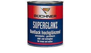 Büchner Superglanz/Farbton oxidrot RAL 3009/750 ml/hochglanz/für den Innen- u. Außenbereich