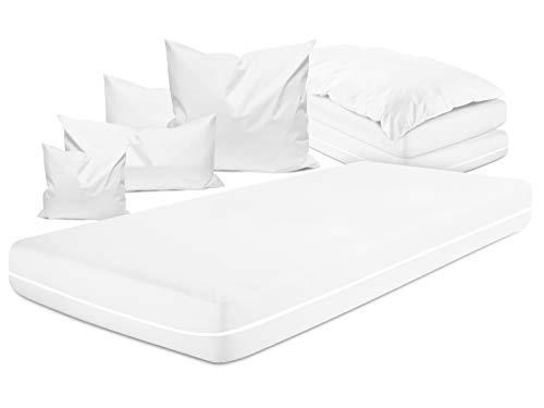 npluseins allergendichter Zwischenbezug - optimal Schutz & Schlafkomfort 337.374, Matratzenbezug 90 x 200 x 20 cm