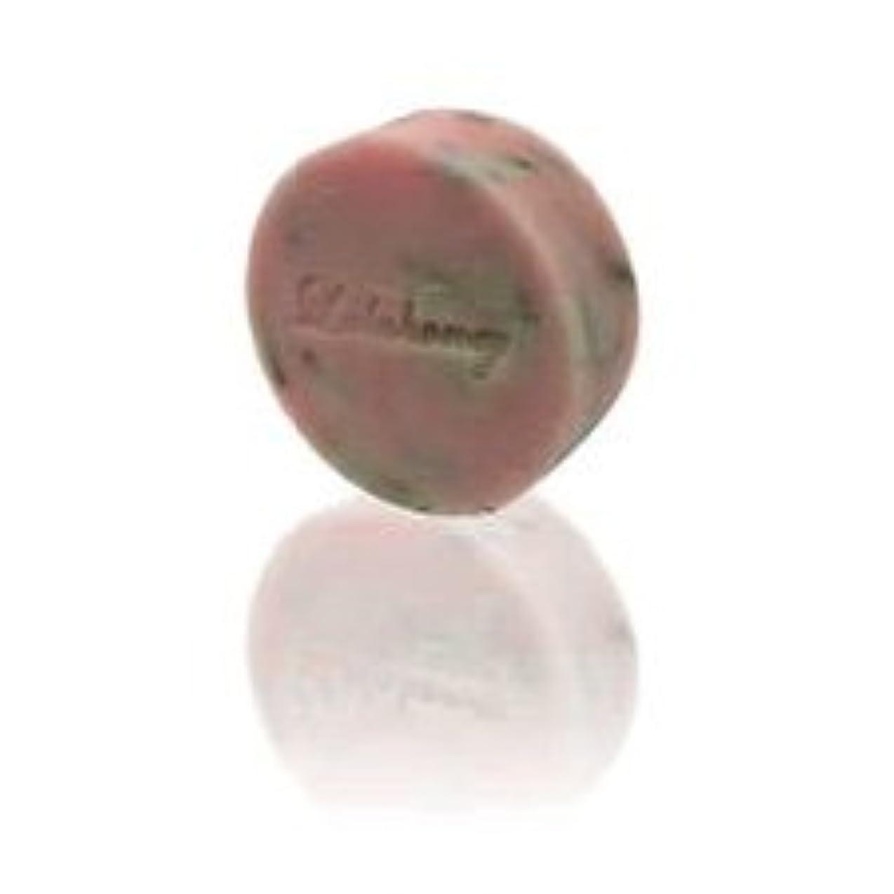 コンパイル壮大な火薬LALAHONEY 石鹸〈ピンクフラワーの香り〉40g【手作りでシンプルなコールドプロセス製法】