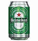 Heineken bière blonde 24x33 cl canette 5% vol