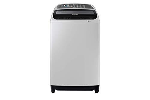 Samsung 10.5 Kg Top Load Washing Machine With Active Dual Wash And Digital Inverter Motor, Silver Gray – WA10J5730SG/GU