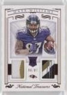 Maxx Williams #6/87 (Football Card) 2015 Panini National Treasures - Rookie Dual Materials - Red Jersey Number #RDM-MW