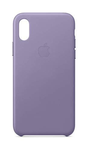 Apple Custodia in pelle (per iPhone XS) - Lilla