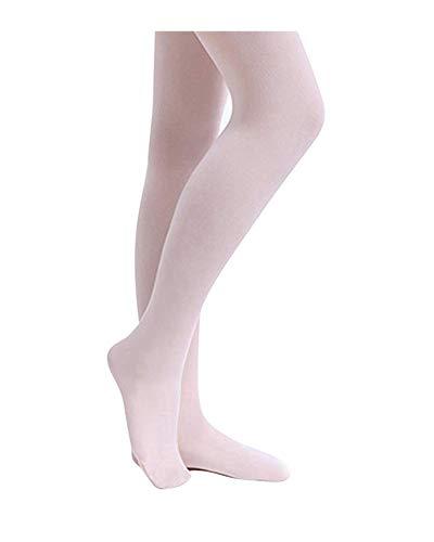 STELLE Girls' Ultra Soft Pro Dance Tight/Ballet Footed Tight (Toddler/Little Kid/Big Kid), Ballet Pink, XXS