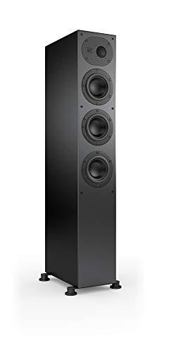 Nubert nuLine 244 Standlautsprecher   Lautsprecher für Stereo   Heimkino & HiFi Qualität auf hohem Niveau   Passive Standbox mit 2.5 Wege Technik Made in Germany   Kompakte Standbox Schwarz   1 Stück