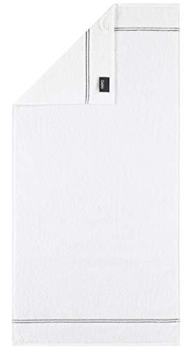 Cawö Home Carat Lot de 600 serviettes de bain Blanc 80 x 150 cm