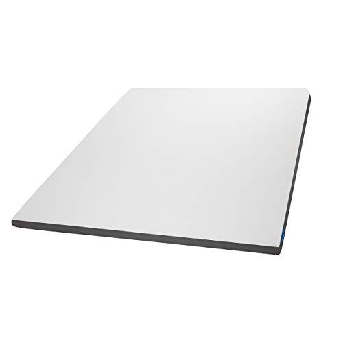 Genius Eazzzy Topper als Matratzenauflage für Matratzen & Boxspringbetten | Viskoelastischer Matratzentopper geeignet für Allergiker | Größe 200 x 220 x 7 cm (weitere Größen erhältlich)