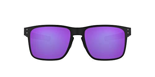 Oakley Holbrook Metal 412314 Gafas de sol, Matte Black, 55 para Hombre