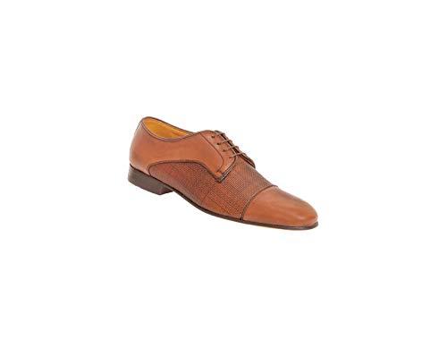 Zapato para Hombre Hechos De Piel Grabada Duque (29, Maple)