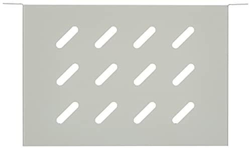 DIGITUS Fachboden - 1HE - 10-Zoll (254 mm) - Für Netzwerk-Schrank - 150 mm Tief - Perforiertes Stahl-Blech - Grau DN-10 TRAY-1 zubehör - fachboden