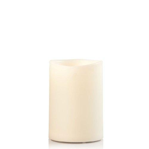 sompex LED Außenkerze - Kunststoff Elfenbein, Höhe:12.5 cm