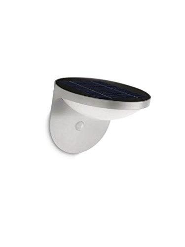 Philips myGarden Solar LED Wandaussenleuchte Dusk, Bewegungsmelder, aluminium, 178088716