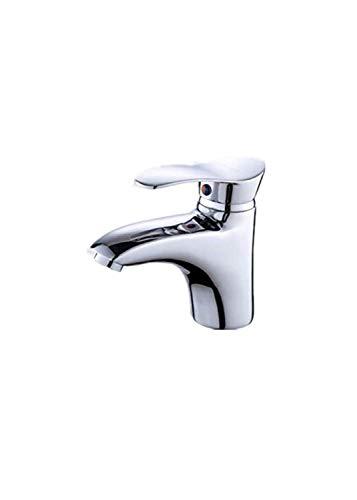 Einhebelmischer für Waschbecken aus Zink mit Wassersparsystem und Chrom-Finish
