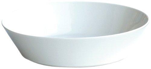 Iittala Schale, Porzellan, Weiß, Höhe: 7,2 cm Durchmesser: 31 cm