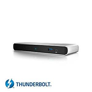 CalDigit TS3 Lite Thunderbolt 3 Dock con Cable de 1 Metro - USB 3.1, DisplayPort, LAN, Audio for Macbook Pro 2016/2017, iMac 2017, Windows Thunderbolt 3 PC - DELL/HP/Lenovo