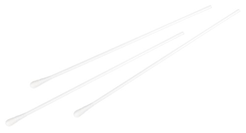 Neolab 2 1017 - Búcleos de algodón (PP, cabeza 4, 5,5 mm, 150 x 2,5 mm, 100 unidades)