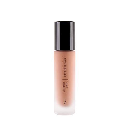 Jorge de la garza Makeup Skin Perfect SPF15 Maquillaje piel perfecta 02 Pale Beige