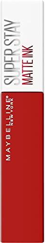 Maybelline New York, Superstay Matte Ink, Pintalabios Líquido Mate De Larga Duración, Color Altamente Pigmentado, Tono, 30 G, 330 Innovator, Vanilla, 5 Mililitro