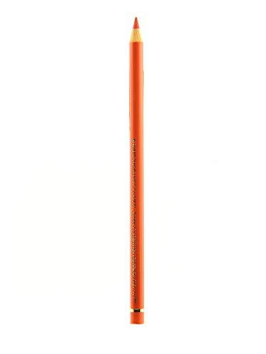 Faber-Castell Polychromos Artists' Single Pencil - Colour 115 Dark Cadmium Orange