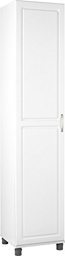 SystemBuild Kendall 16  Utility Storage Cabinet - White