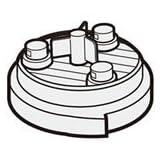 シャープ[SHARP] シャープ掃除機用高性能プリーツフィルター(217 337 0508) 【2173370508】