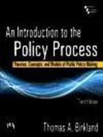 Price comparison product image Introduction to the Policy Process,  An: Theories,  Concepts,  and Models of Public Policy Making,  3rd ed.